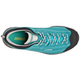 Asolo Nucleon GV Zapatillas Mujer, Turquesa/negro
